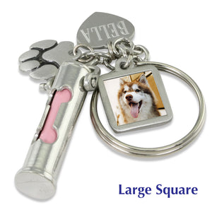 custom pet memorial keychain