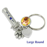 custom pet ashes keychain