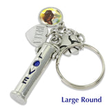 pet photo keychain