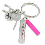 pet ashes keychain