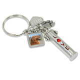 pet cremation jewelry keychain