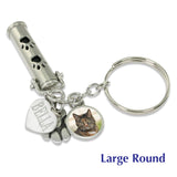 pet ashes keychain urn