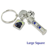 pet cremation ashes jewelry urn keychain