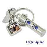keepsake for pet ashes personalized