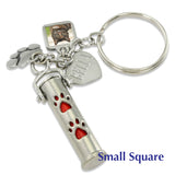 pet cremation jewelry keychain urn