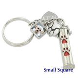 pet cremation ash jewelry photo charm
