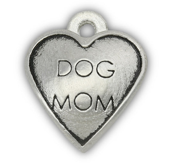 Dog Mom dog charm for dog charm bracelet and photo bracelet