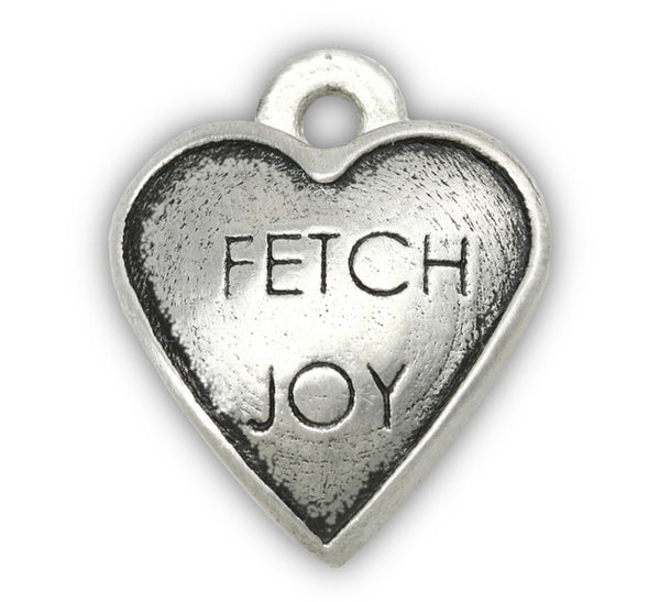 Fetch Joy dog charm for dog jewelry