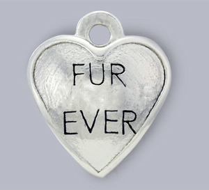fur ever dog charm