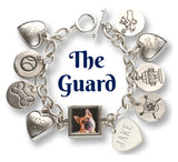 The Guard Dog Charm Photo Charm Bracelet - Dog Jewelry
