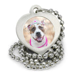 personalized pet pendant pet memorial necklace dog necklace photo necklace