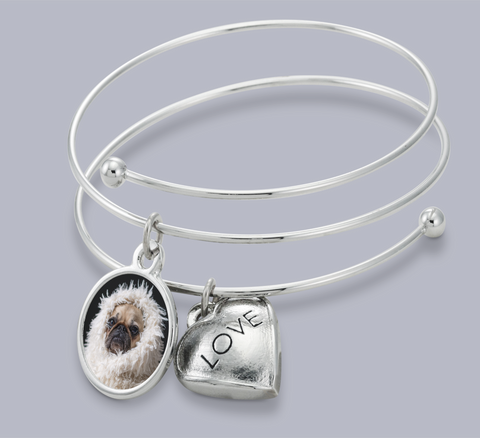 jewelry dog engraved pet for bracelet ladies memorial pin personalized bracelets