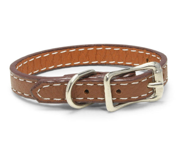 leather wristband brown