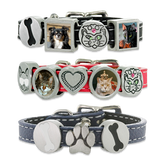 Molly Leather Photo Charm Bracelet Pet Memorial Jewelry