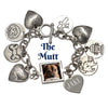 The Mutt Photo Charm Bracelet and Collar Combo