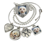dog jewelry with personalized photo necklace picture necklace