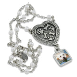 custom pet themed photo necklace