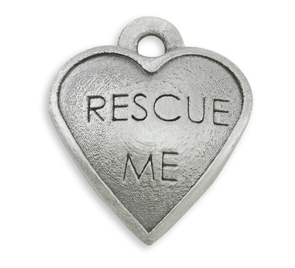 rescue me dog charm for adoption jewelry and rescue jewelry dog charm bracelet
