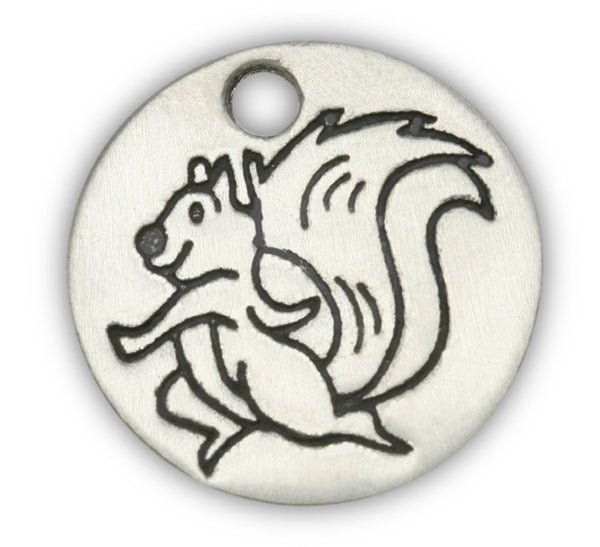 Squirrel dog charm for dog charm bracelet and dog charm photo bracelet