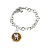 Daisy Custom Photo Bracelet with Pet Charms Pet Memorial Jewelry - Customer's Product with price 55.00