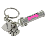 Pet Cremation Urn Keychain Dog Bone Paw Print Charm - Customer's Product with price 42.00 ID CPutkOpUw-UO2dXDrmp44Rp0