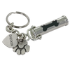 Pet Cremation Urn Keychain Dog Bone Paw Print Charm - Customer's Product with price 42.00 ID A9kbzoa5hhgY4ZIqGTGCN6l6