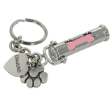 Pet Cremation Urn Keychain Dog Bone Paw Print Charm - Customer's Product with price 42.00 ID 3h9r1AdzTylUAuAZvQVdwVLO