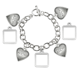 Maggie Photo Charm Bracelet Pet Memorial Jewelry-Copy - Customer's Product with price 105.00