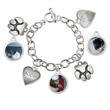 Maggie Photo Charm Bracelet Pet Memorial Jewelry - Customer's Product with price 105.00
