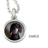 Photo Pendant Dog Necklace - Mia Personalized Photo Necklace - Customer's Product with price 40.00 ID Sc70YXDwjbk0sZGYXbnWWPC-