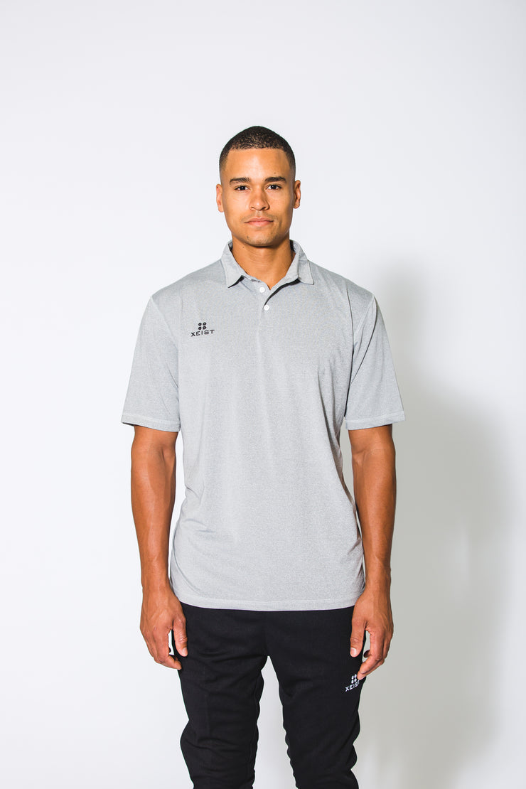 Grey XE-Caliber Polo - Xeist