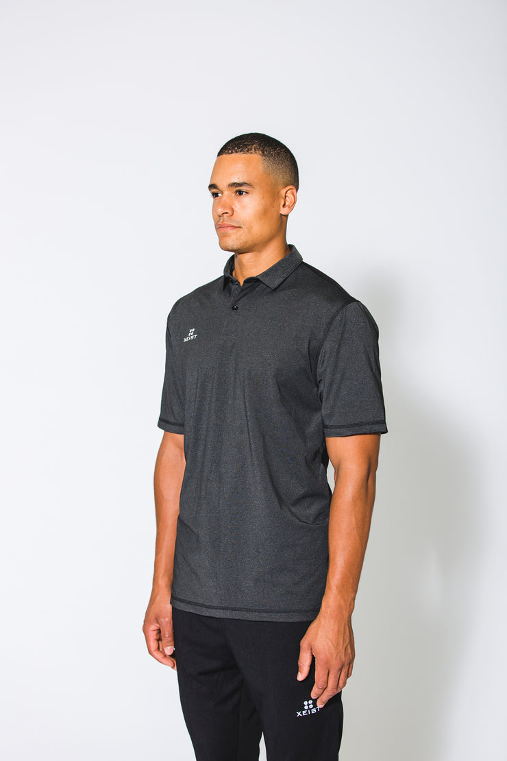 Black XE-Caliber Polo - Xeist