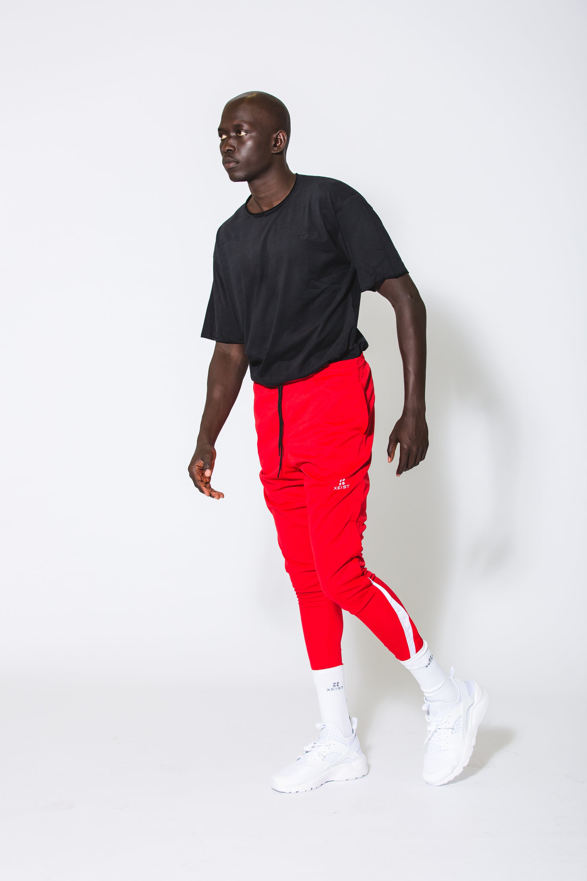 Red 741z Joggers - Xeist