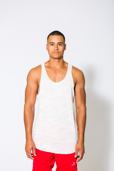 White Essential Tank - Xeist