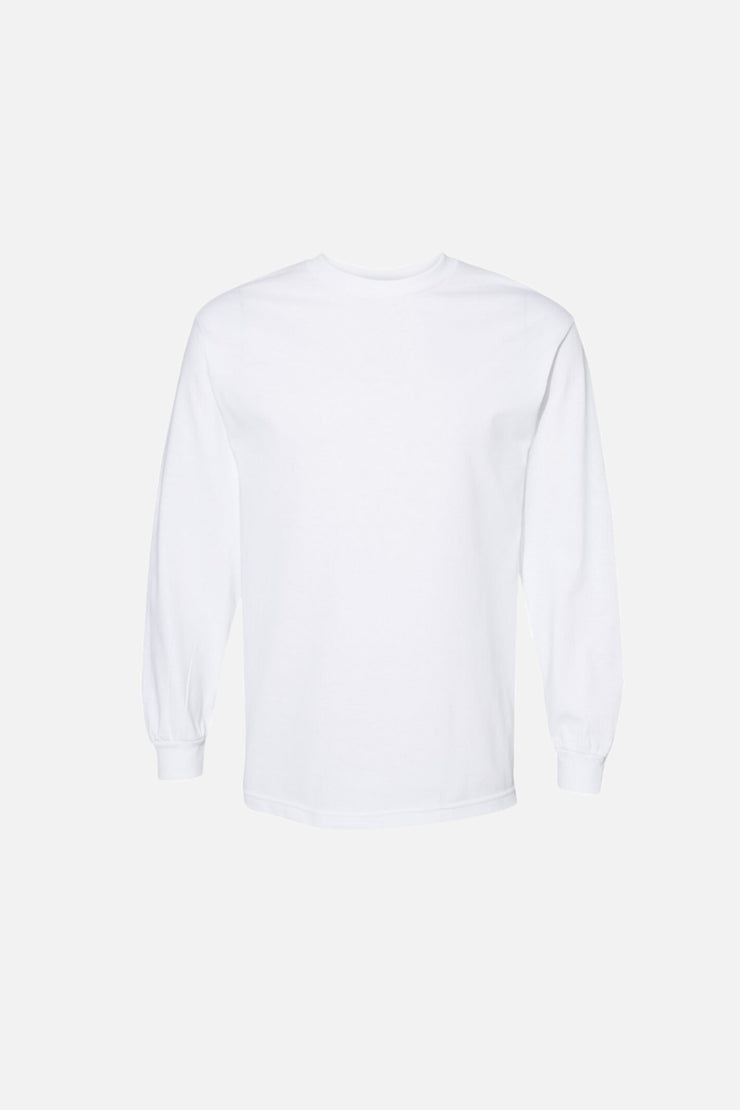 Alstyle Long Sleeve Tee - White