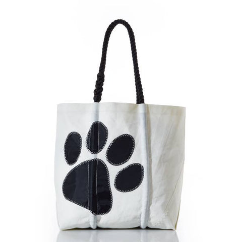 Sea Bags Paw Print Tote Medium
