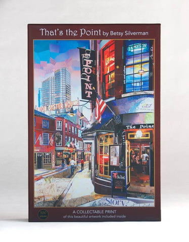 That's the Point; 500-Piece, Velvet-Touch Jigsaw Puzzle