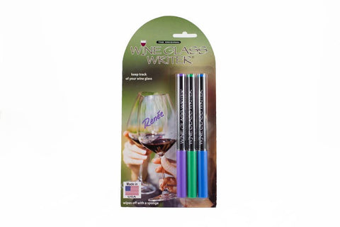 Wine Glass Writer USA-Made Bold Blister 3-Pack