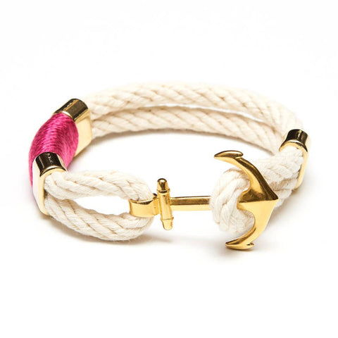 Allison Cole Jewelry - Waverly Bracelet - Ivory/Pink/Gold