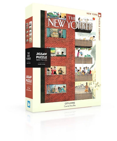 New York Puzzle Company - City Living Puzzle 500 piece
