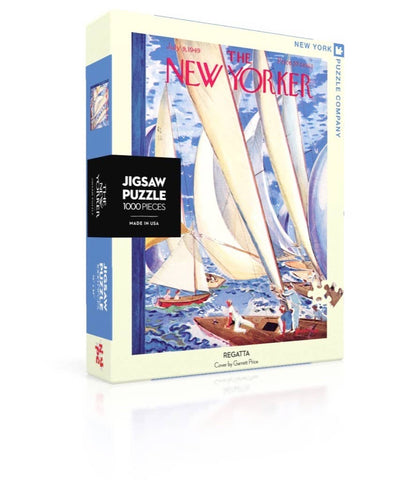 New York Puzzle Company - Regatta Puzzle