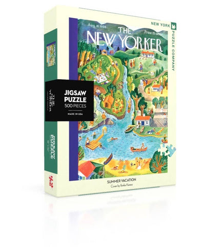 New York Puzzle Company - Summer Vacation Puzzle