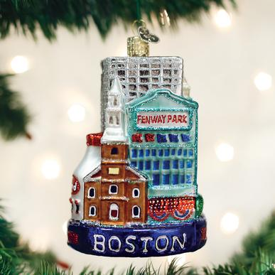Boston City Ornament Glass