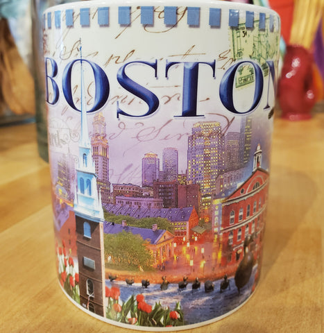 Boston Mug ~ Sepia