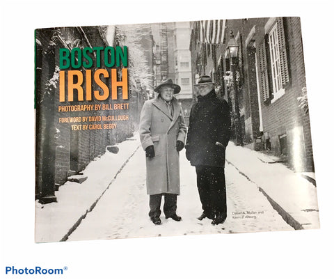 Boston Irish Book Limited Edition Cover ~ by Bill Brett Photographer