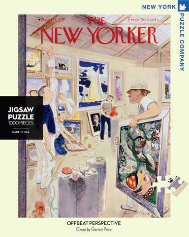 New York Puzzle Company - Offbeat Perspective Puzzle