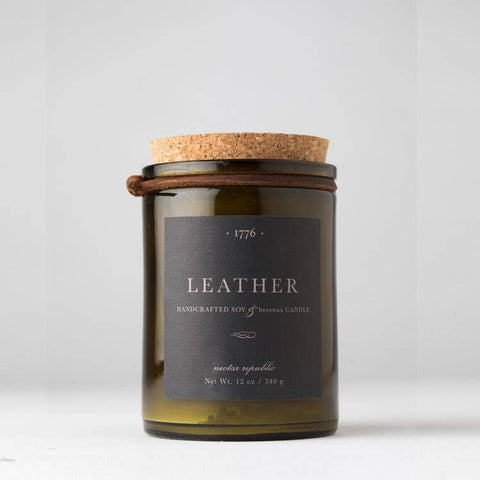 Nectar Republic - Leather Candle