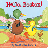 Hello Boston Boardbook