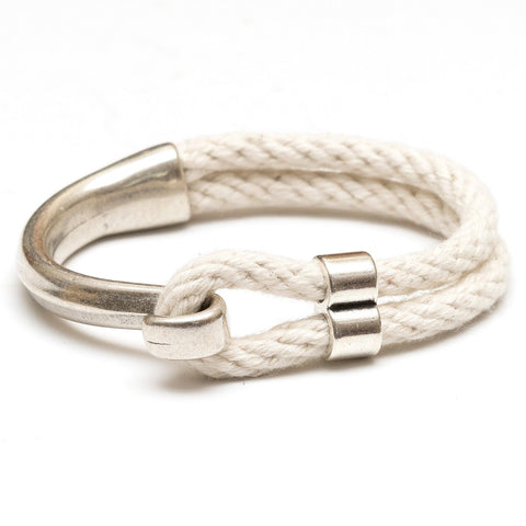 Allison Cole Jewelry - Hampstead Bracelet - Ivory/Silver