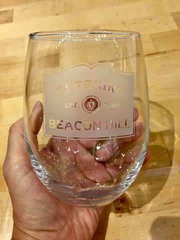 Stemless Wine Entering Beacon Hill 21fl. oz.